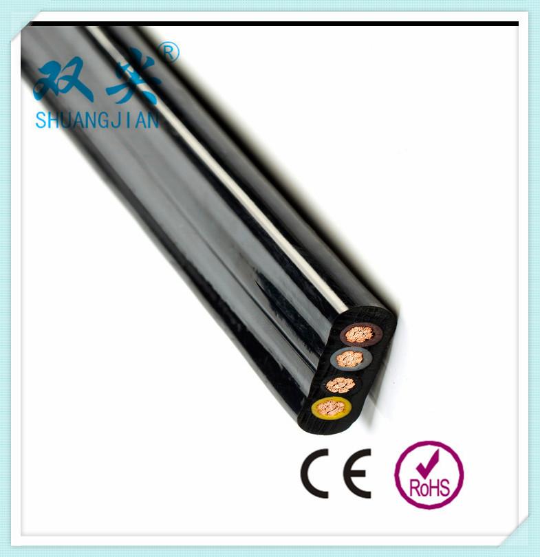 YS-YFUB 4*50高柔性耐磨腐蚀聚氨酯扁电缆